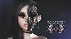 THIS IS WRONG Moloch makeup - exclusive for Eclipse Event (THIS IS WRONG owner) Tags: exclusive eclipse makeup