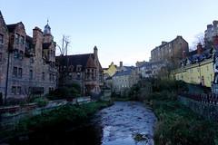 Edinburgh (Georgie Kyriacou) Tags: edinburgh scotland winter waterofleith deanvillage river gothic neogothic