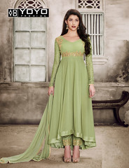 Sparky Green #AnarkaliSalwarSuit Online On #YOYOFashion. (yoyo_fashion) Tags: dresses partysuit womenstyle trends offers suit shopping dress ethnic greensuit