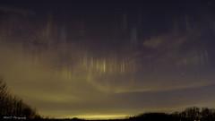 Piliers Lumineux (2) (Mikl.C. Photography) Tags: phénomène lumineux ciel nuit