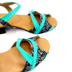 Buy Lila Blue Fabric Block Heels Sandal For Women at PAIO Shoes (paio.nirmal) Tags: blockheels blockheelsforwomen blockheelssandals blockheelssandalsforwomen paioshoes paio