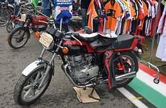 Yamaha XS 400 (1979) (baffalie) Tags: moto ancienne vintage classic old bike motorbike retro expo italia sport motocycle racing motor show collection club course race circuit compétition italie bologna piste pista