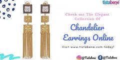 Explore The Elegant Collection Of Chandelier Earrings (Tistabene_Jewellery) Tags: earringsonline earrings chandelier artificialjewellery imitationjewellery girls fashion jewellery