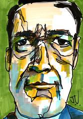 "Bouke DH (""Jimmer"" ( http://jim-vance.pixels.com )) Tags: portrait caricature drawing jkpp"