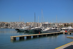 036A0488 (zet11) Tags: greece piraeus port marina yachts buildings sky water
