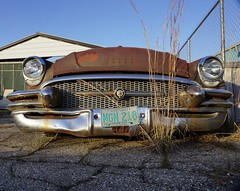 Chrome (1mississipp) Tags: chrome rust car oldcar sonya6000