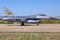 FA114 88-0039 F-16AM SABCA F-16A Block 15AC OCU  Zaragoza NTM 2016n (Antonio Doblado) Tags: fa114 880039 f16am sabca f16a f16 zaragoza nato ntm tigermeet aviación aviation aircraft airplane