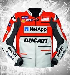 Ducati Replica Team 18 MotoGP Leather Jacket (devilsondotcom) Tags: ducati replica leather jacket mens fashion motogp rider racer