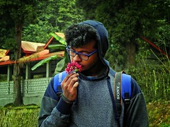 """Our perception of life is limited to what we see, smell and feel. Everything else is just a mystery."" - Anthony T. Hincks (Abeer!) Tags: abeer abeerbarman blue bengal darjeeling eyes field fall flowers green grass garden himalaya himalayas highaltitude hill india leaves male man mirik nature portrait path architecture red scenery tree trees valley vale village westbengal yellow scent"