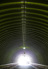 The Time Tunnel (Jersey JJ) Tags: the time tunnel tony doug green light at end