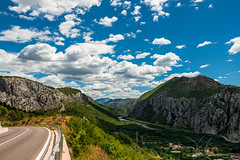 Omis-Croatia-roadtrip-views.jpg (yobelprize) Tags: grass rock high alpine nature curvedroad yobelmuchang hill summer road dramaticsky scenic outdoors valley view cloudscape range mountains outdoor croatia sky town clouds europe yobel lush green peak river travel hiking stone forest omis landscape tourism highway mountain