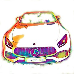 (c)  GT - AMG - Cabrio  Nr. 002 (Jui Jah Fari) Tags: amg mercedes car gtamgv8 gtamg benz v8 juijahfari art amggt amggtcoupe coupe mercedescoupe cabrio auto popart kunst artististic künstler artist sportwagen roadster color colour bunt power gütersloh germany deutschland artwork kunstwerk automobil gt farbenrausch