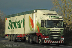 Scania Stobart PX15 WMF (SR Photos Torksey) Tags: transport truck haulage hgv lorry lgv logistics road commercial vehicle freight traffic scania stobart