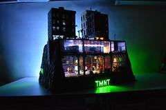 Teenage Mutant Ninja Turtles Sewer Lair-Subway-NYC (ben_pitchford) Tags: teenagemutantninjaturtles tmnt newyorkcity lego legomoc legobuild afol downtown legocity architecturephotography legolights toyphotography toydesign legoflickr legogroup hobbylobby bricknetwork ninjaturtles