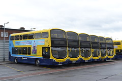 Dublin Bus SG137 152-D-17793 - SG291 172-D-21200 - SG141 152-D-17799 - SG299 172-D-19516 - SG12 142-D-12037 - SG307 172-D-21002 (Will Swain) Tags: dublin phibsboro depot 16th june 2018 bus buses transport travel uk britain vehicle vehicles county country ireland irish city centre south southern capital sg137 152d17793 sg291 172d21200 sg141 152d17799 sg299 172d19516 sg12 142d12037 sg307 172d21002 sg 307 299 141 12 291 137