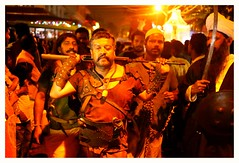 Carnival / Fort cochin / kerala (Rajavelu1) Tags: carnival fortcochin kerala india streetphotography candidstreetphotography people colours nightstreetlife handheldnightphotography nightstreetphotography dslr art creative availablelight veryhighiso artdigital