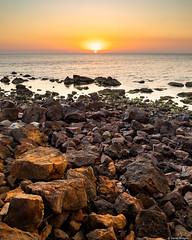 Sunset at Shnapper Point (Derek Midgley) Tags: p2020849hdr2 shnapper point mornington sunset sky evening red rocks handheld 3shot bracketed
