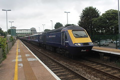 43094 (matty10120) Tags: class railway rail transport travel bridgend hst high speed train intercity 125 great western first group
