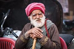 Life - Takumar 85mm 1.8 (thomas.pirolt) Tags: india candid portrait old people man takumarsmc85mm18 takumar 85mm 18 sony a7ii braj goverdhan streetphotography street streetlife a7 moment theindiatree