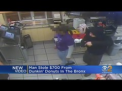 CBSN 24/7 Live TV Stream - NYPD On Hunt For Man Who Robbed Bronx Dunkin Donuts - New York Alerts (News Tv Channel) Tags: alicegainer armedrobbery bronx cbs2newsweekends dunkindonuts localtv nypd robbery