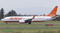 HL8322 737-800 Jeju Air (Anhedral) Tags: einn snn shannonairport airliner airplane jet hl8322 boeing 737 737800 jejuair