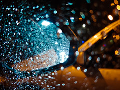 Paradise by the dashboard light (RubyT (I come here for cameraderie!)) Tags: lgg7 rian blur car night abstract