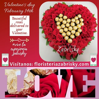 *_February 14th: Beautiful roses delivered to your Valentine._*  Online store: https://floristeriazabrisky.com/collections/valentine-s-day-february-14th   #valentinesday #valentineday #valentinegift #valentines #happyvalentines #instafeb #instavalentine