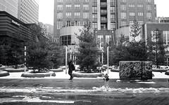 South Side of Cumberland in Winter (Bill Smith1) Tags: believeinfilm billsmithsphotography canonnewf1 fdn28f28lens hc110b heyfsc kodaktrix4001600 toronto 28mmchallenge bcpool