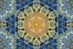 Water&Reflections (evisdotter) Tags: waterreflections kaleidoscope abstract gimp