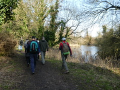 UK - Hertfordshire - Near Cheshunt - Walking through River Lee Country Park (JulesFoto) Tags: uk england hertfordshire cheshunt walking riverleecountrypark ramblers capitalwalkers