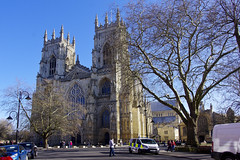 York Minster, England - the west front (Graham Woodward) Tags: yorkminster yorkcathedral york churchofengland cathedral