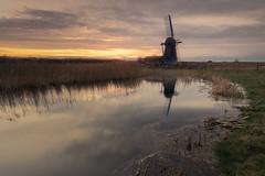 The Black Windmill (Andrew G Robertson) Tags: windmill herringfleet suffolk norfolk southwold lowestoft sunset sunrise