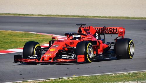 FERRARI SF90 / Sebastian Vettel / GER / Scuderia Ferrari