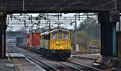 Old Stalwarts (whosoever2) Tags: uk united kingdom gb great britain england nikon d7100 train railway railroad march 2019 al6 class86 freightliner 86604 86622 actonbridge cheshire wcml mossend daventry intermodal freight
