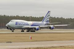 IMG_2709@L6 (Logan-26) Tags: boeing 747428bcf n919ca msn 25302 national airlines riga international rix evra latvia cargo airport aleksandrs čubikins