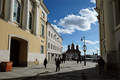 (Kirill & K) Tags: город москва переулок рыбный март солнечно