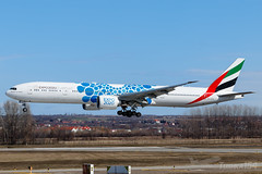 A6-ECQ | Emirates (Expo 2020 (Mobility / Blue) livery) | Boeing 777-31H(ER) | BUD/LHBP (Tushka154) Tags: a6ecq 777 spotter ferihegy budapest specialscheme expo2020mobilityblue hungary boeing emirates 777300 77731her aircraft airplane avgeek aviation aviationphotography boeing777 boeingtripleseven budapestairport lhbp lisztferencinternationalairport planespotter planespotting spotting tripleseven