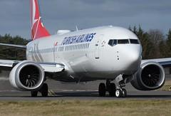 TC-LCM Turkish Airlines (Gerry Hill) Tags: edinburgh airport gerry hill scotland turnhouse ingliston d90 d80 d70 d7200 d5600 boathouse bridge nikon aircraft aeroplane international airline edi egph airplane transport tclcm turkish airlines boeing 7378 max b737 b 737 8