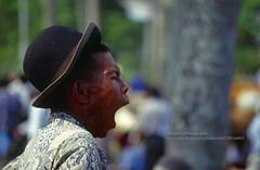 Sumatra, near Bukittinggi, cattle market (blauepics) Tags: indonesia indonesien southeast asia asien südostasien sumatra sumatera island insel ethnical ethnische minority minderheit minangkabau bukittinggi agriculture landwirtschaft farmer bauern animal tier cattle market viehmarkt men männer kühe cow markt candid gähnen