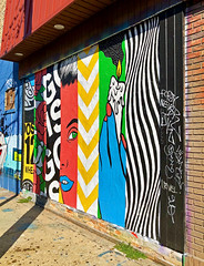 Seven Days a Week by POSE MSK (wiredforlego) Tags: graffiti mural streetart urbanart aerosolart publicart chicago illinois ord posemsk