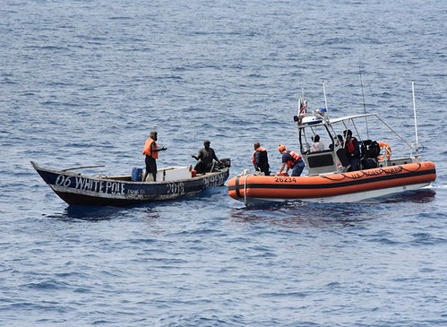 Cutter Thetis Rescues Two Fishermen in the Gulf of Guinea