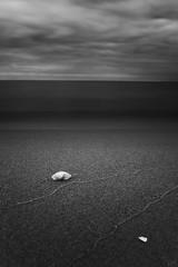 Dark Beach (johaennesy) Tags: balticsea ostsee scharbeutz lübeckerbucht germany deutschland beach sand strand schleswigholstein vertical monochrome blackandwhite longexposure pentaxian pentax opensourcesoftware gimp rawtherapee