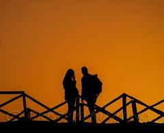 io te e il tramonto... (gius_mar2014) Tags: tramonto ilce7m3 fe 100400mm f4556 gm oss