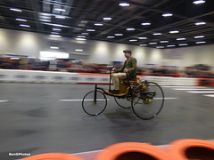 Benz Patent-Motorwagen (BenGPhotos) Tags: 2019 london classic car show grand avenue 1886 benz patent motorwagen replica vintage early