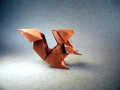 Squirrel - Fuchimoto Muneji (Rui.Roda) Tags: origami papiroflexia papierfalten esquilo ardilla écureuil squirrel fuchimoto muneji