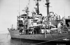 f-565-sibilla-trieste-1969_14079698755_o (t.libra) Tags: corvetteclasseape warships corvette trieste marinamilitare f565sibilla 1969