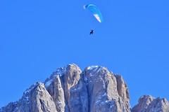 (lucamarasca1) Tags: sky nikond5500 nikkor nikon sassolungo altoadige dolomiti dolomite mountain alps sportextreme sport parapendio nature