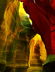 Light tricks redux (My Americana) Tags: antelopecanyon page arizona slotcanyon navajo reserve canyon
