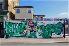 Skib / (Alex Ellison) Tags: northlondon wrcrew urban graffiti graff boobs skib zkib