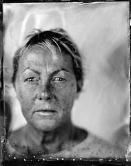 Louise (fitzhughfella) Tags: tintype tinplate collodion ether silvernitrate largeformat 4x5 graflexspeedgraphic kodakaeroektar 8secs vintage